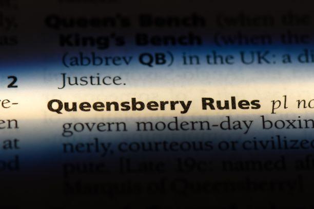 Marquess von Queensberry Regeln